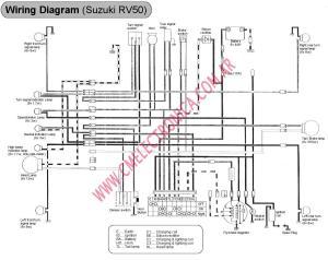 Diagrama suzuki rv50