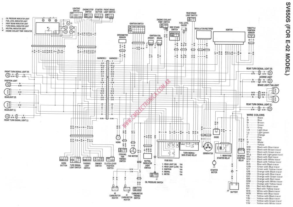 medium resolution of 2000 sv650 ignition schematics enthusiast wiring diagrams u2022 yamaha sr500 wiring diagram 2000 suzuki sv650 wiring diagram