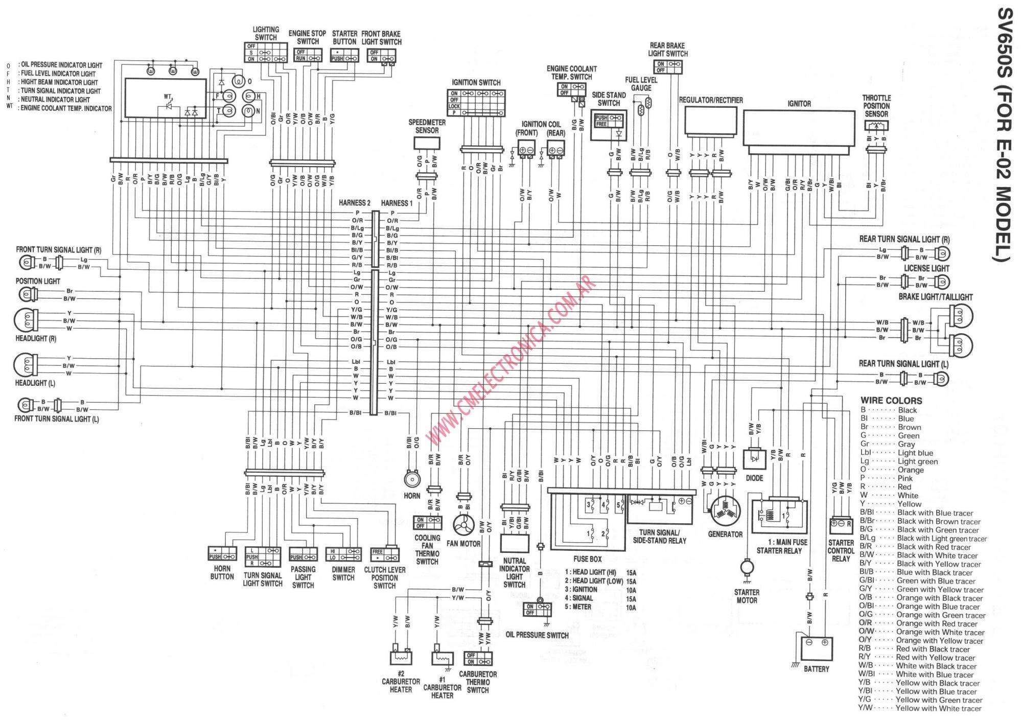 hight resolution of 2000 sv650 ignition schematics enthusiast wiring diagrams u2022 yamaha sr500 wiring diagram 2000 suzuki sv650 wiring diagram