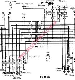 ts 185 electric diagram enthusiast wiring diagrams u2022 rh rasalibre co drz 400 wiring diagram suzuki [ 1768 x 1018 Pixel ]