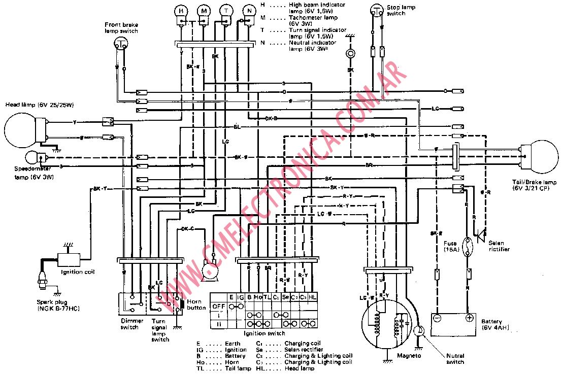 [DIAGRAM] 1980 Suzuki Ts250 Wiring Diagram FULL Version HD