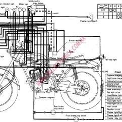 Yamaha Banshee Drag Wiring Diagram Domestic Ring Main Diagrama Dt1e Dt2 Dt3 Rt1b Rt2 Rt3