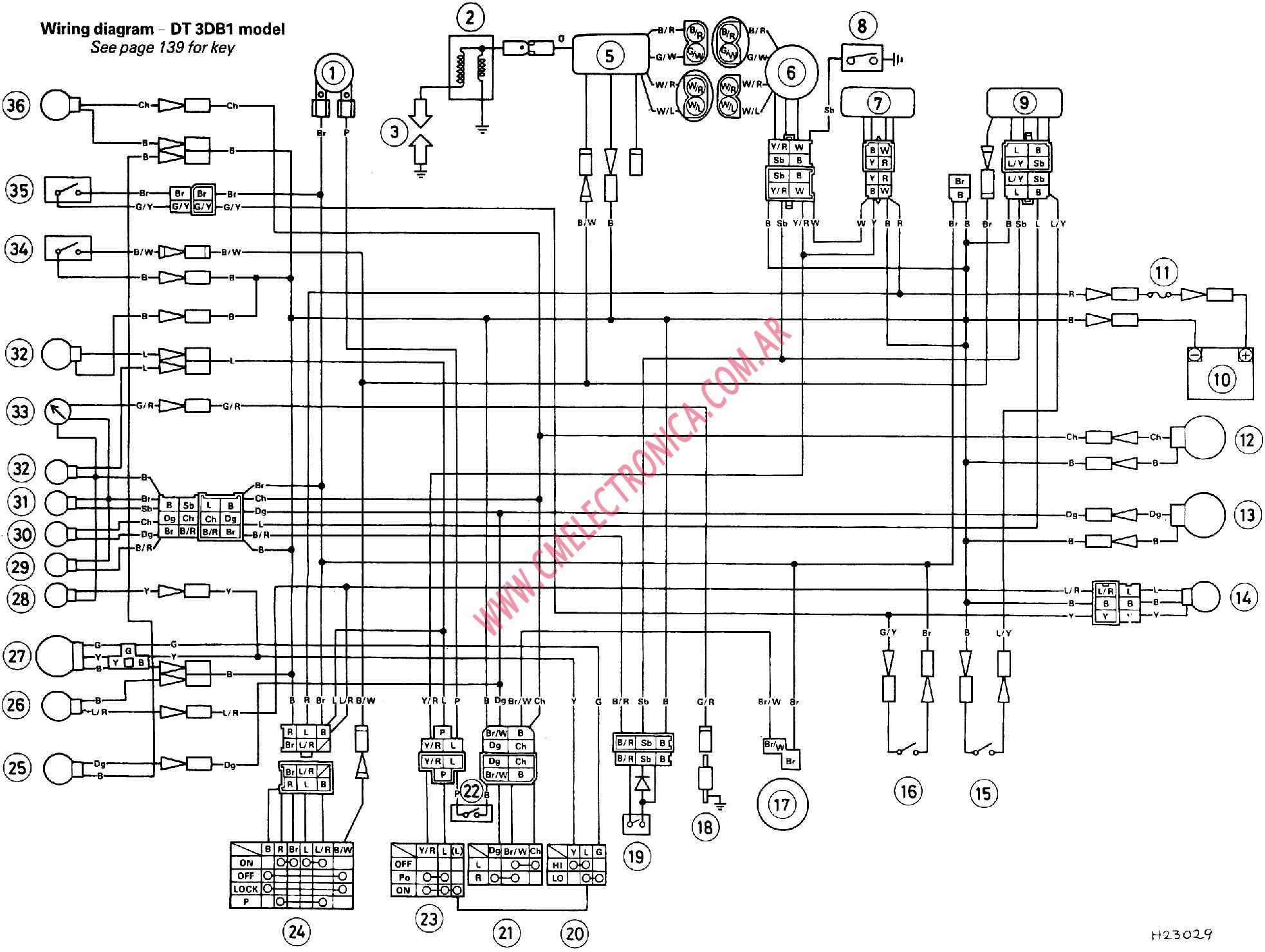 Yamaha Xs Wiring Diagram Auto Electrical Wiring Diagram