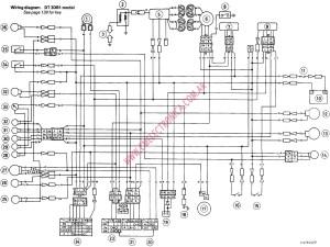 YAMAHA XS WIRING DIAGRAM  Auto Electrical Wiring Diagram