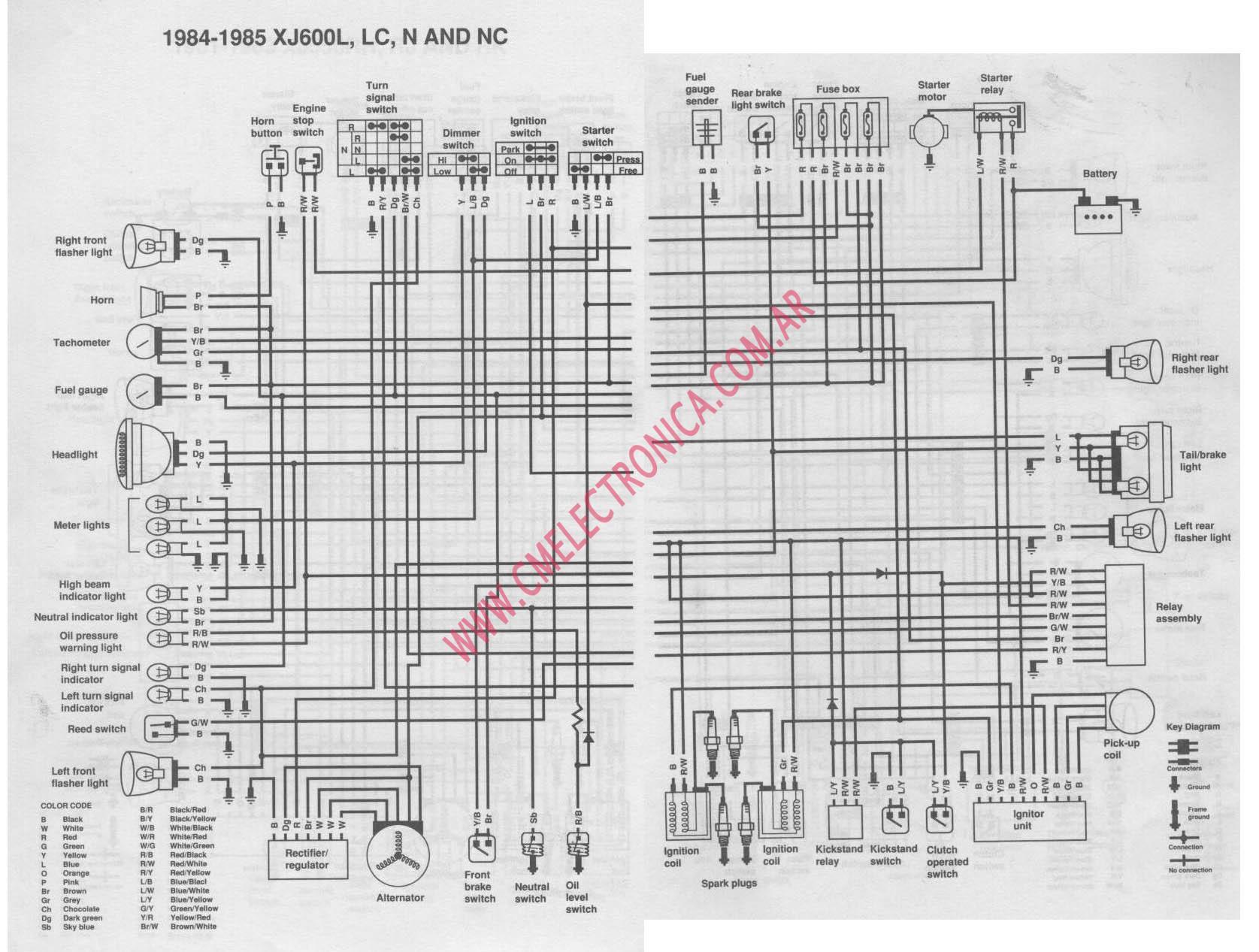 xj 600 wiring diagram wiring diagram rh eu67 cdu grossefehn de yamaha xj600 pre diversion wiring diagram yamaha xj600 51j wiring diagram
