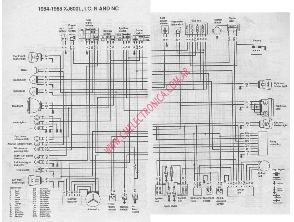 medium resolution of yamaha xj 600 wiring diagram wiring diagram services u2022 yamaha mt 03 wiring diagram yamaha mt 03 wiring diagram