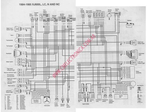 small resolution of yamaha xj 600 wiring diagram wiring diagram services u2022 yamaha mt 03 wiring diagram yamaha mt 03 wiring diagram