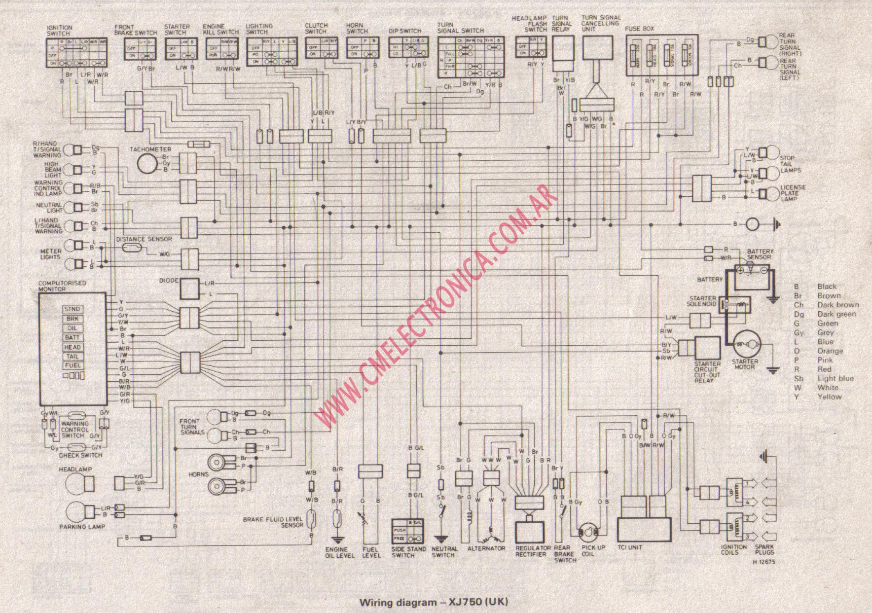 hight resolution of 1983 yamaha xj 750 wire diagram 1983 free engine image 1982 yamaha maxim 750 cafe 1982 xj750 yamaha blue