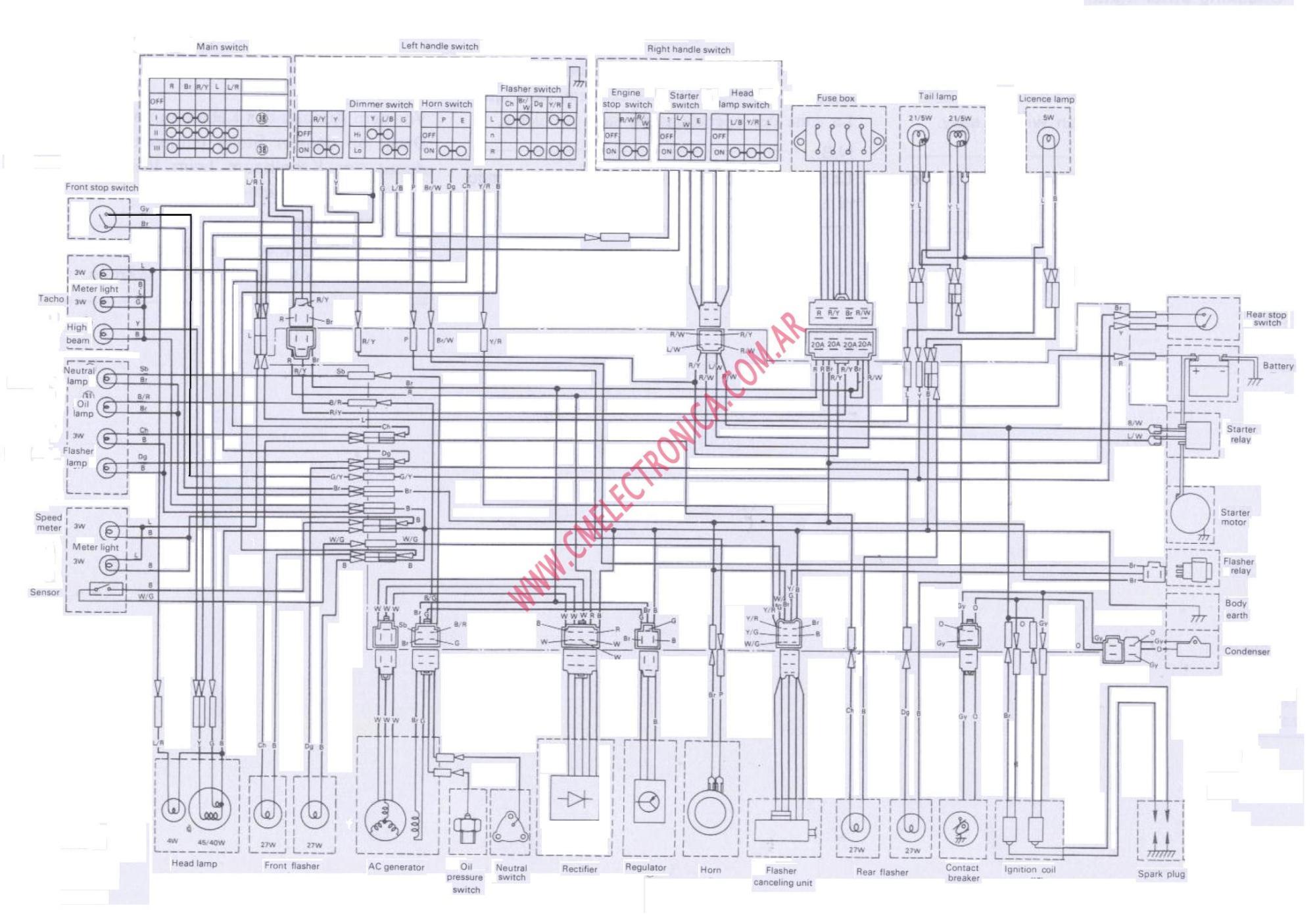 hight resolution of xs1100 cdi wiring diagram wiring diagrams u2022 xs yamaha wiring diagrams 1979 yamaha wiring diagram