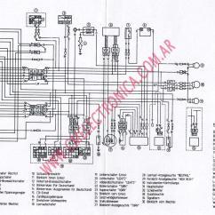 1999 Yamaha Banshee Wiring Diagram Usb To Hdmi Cable Moto 4 80 Atv Car Interior Design