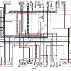 Yamaha Virago Wiring Diagram Club Car Ignition Switch 85 700 Vmax