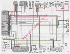 Diagrama yamaha xv750