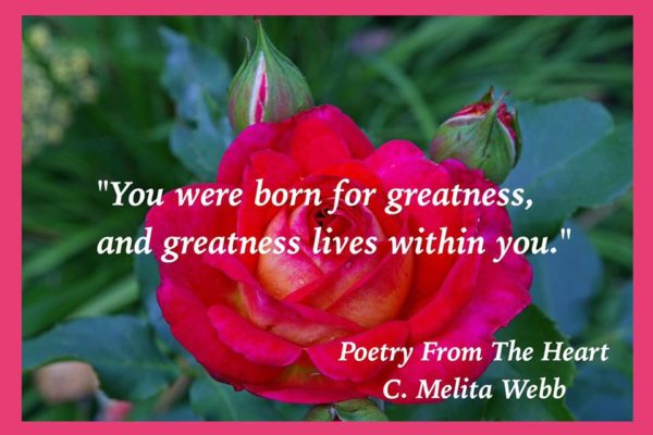 Greatness lives within you