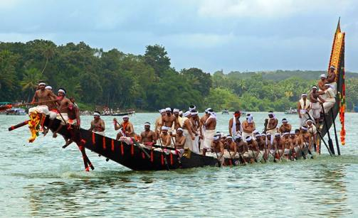 Boat race - the strength of team work