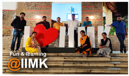 fun and learning at IIMK - team cmercury