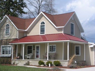 Colonial Red Home Coated Metals Group