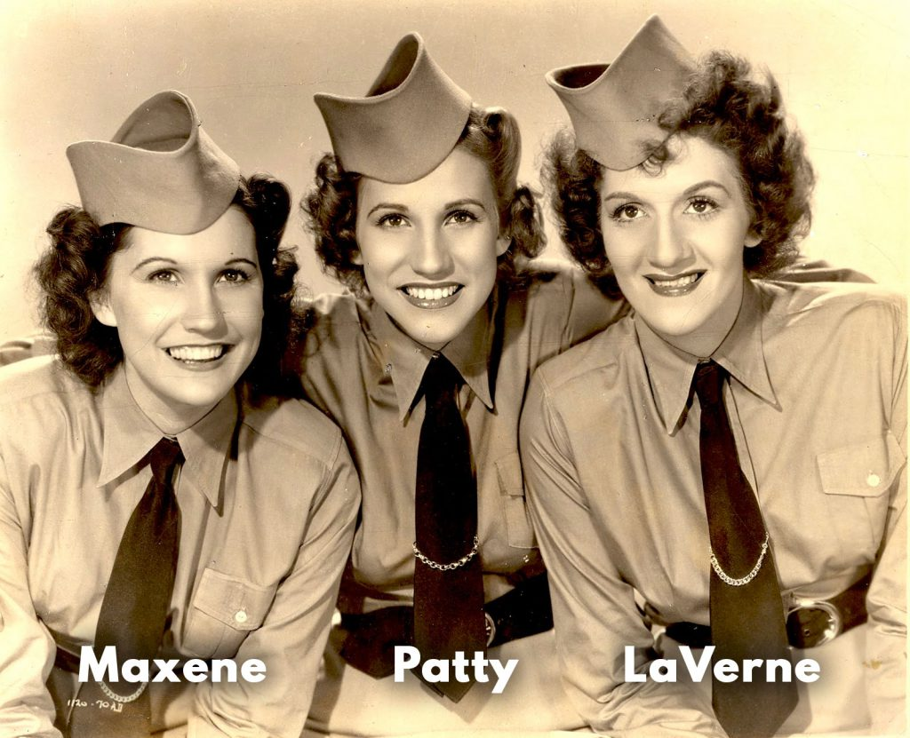 the andrews sisters the