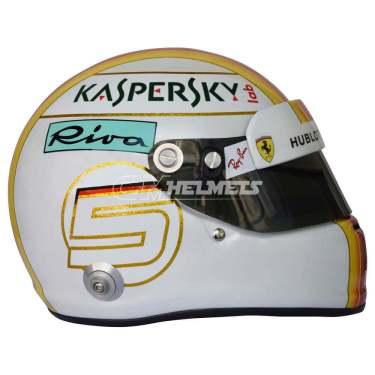 Sebastian-Vettel- 2018-Bahrein-GP- F1-Replica-helmet Full-Size-be7
