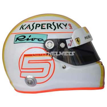 Sebastian-Vettel-2018-Barcelona-Canada- Azerbaijan-GP-F1-Replica-Helmet-Full-Size-be8