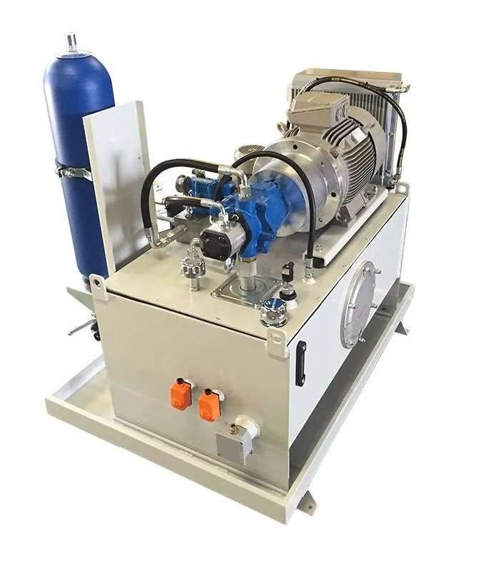 Centrale Oleodinamica Atex per impianto cambonifero in Oman