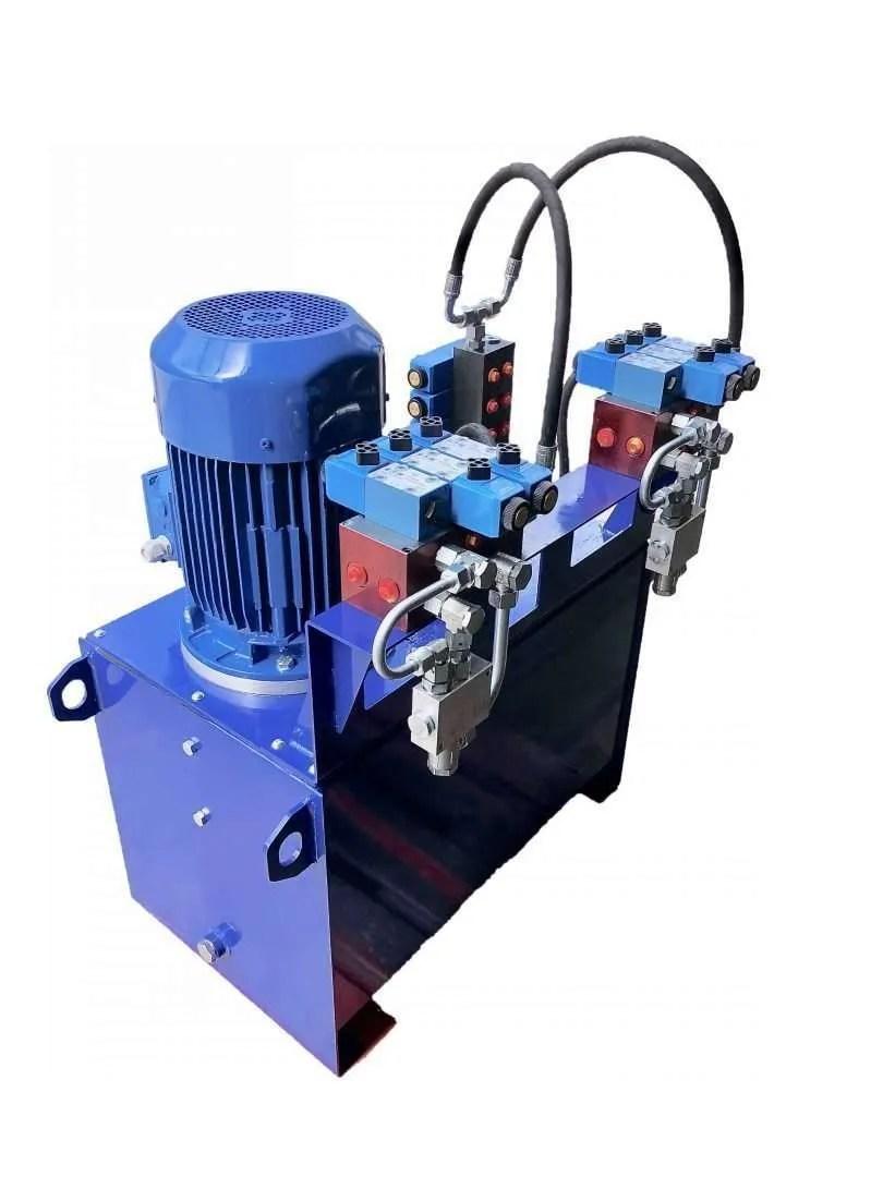Centrale oleodinamica macchina lavorazione carta