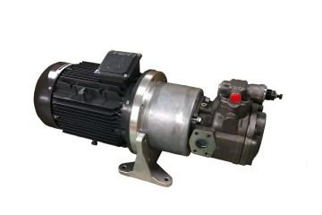 Minicentralina Oleodinamica impianto produzione poggiatesta per auto