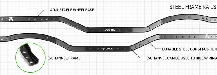 AXIAL SCX10 II JEEP CHEROKEE 4WD ARTR ROCK CRAWLER #AX90047