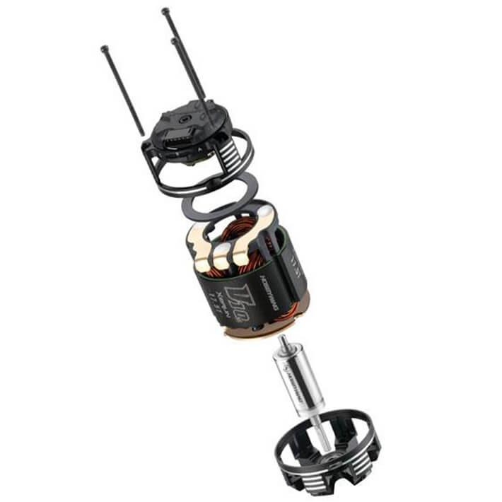 HOBBYWING XERUN V10 4.5T BLACK G3 MOTOR #HW30401102