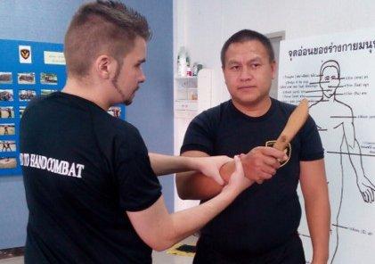 1 year hand to hand combat Visa