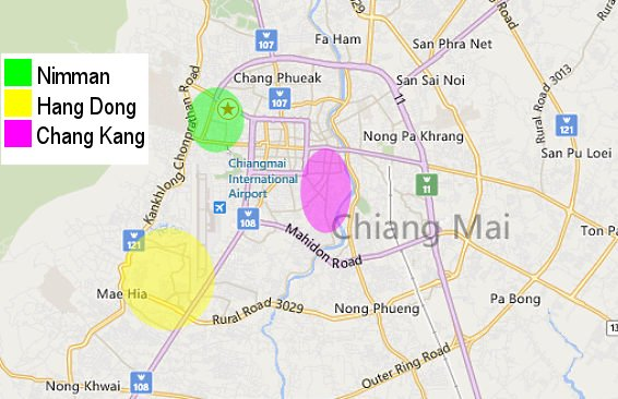 Accommodation in Chiang Mai Where to live