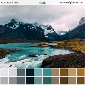 Mountain Oasis - Color Inspiration from Color My Life