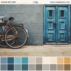 Blue Door - Color Inspiration from Color My Life
