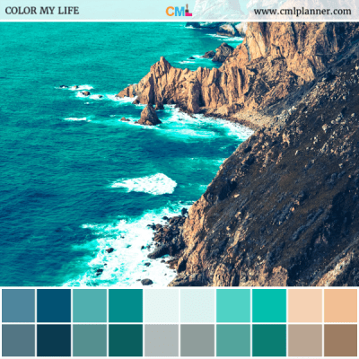 Emerald Bay - Color Inspiration from Color My Life