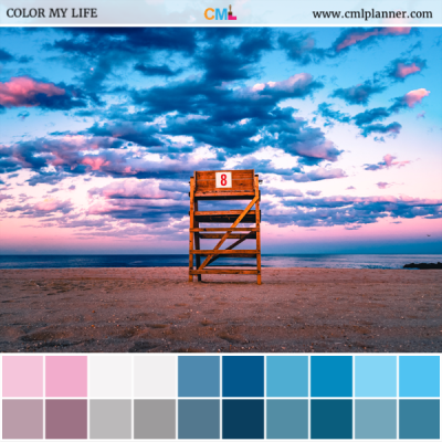 Sunset Rescue - Color Inspiration from Color My Life