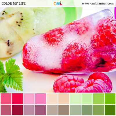 Fruit Pop - Color Inspiration from Color My Life