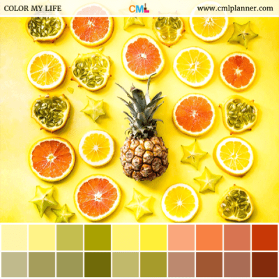 Fruitlicious - Color Inspiration from Color My Life