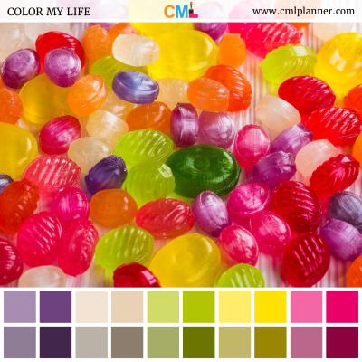 Sugar Rush - Color Inspiration from Color My Life