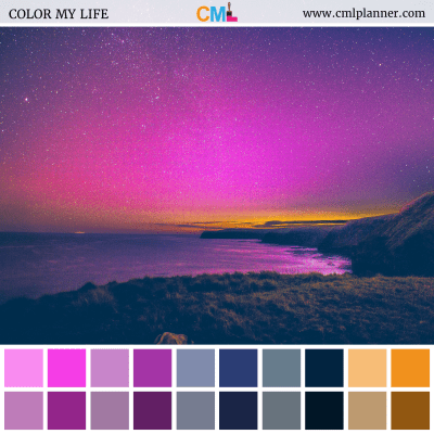 Look Up - Color Inspiration from Color My Life
