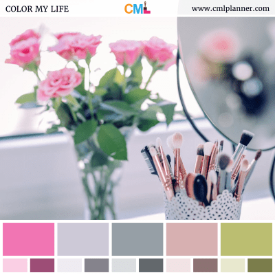 Floral Beauty - Color Inspiration from Color My Life