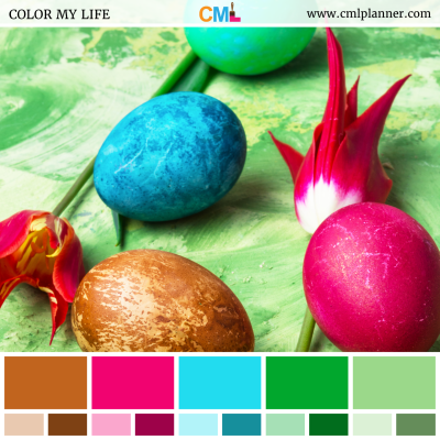 Color Eggs - Color Inspiration from Color My Life