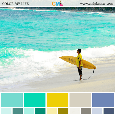 Aqua Surf - Color Inspiration from Color My Life