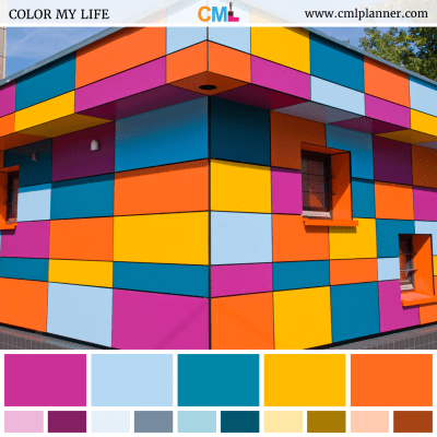 Building Hues - Color Inspiration from Color My Life