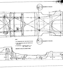 fox body rear sub frame fox chassis frame dimension  [ 1200 x 872 Pixel ]