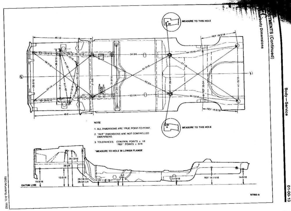 medium resolution of fox body rear sub frame fox chassis frame dimension