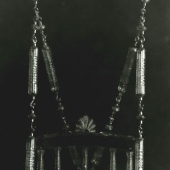 Swing Chair Hyderabad Hi Top Tables And Chairs All About Glass Corning Museum Of 3 Made For The Nizam S Palace India Elias Palme 1895 Narodni Technicke Muzeum Prague