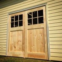 Building Huge Carriage Style Doors