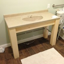 ADA Compliant Bathroom Vanity