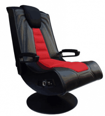video game chair with cup holder dark chocolate dining chairs x rocker spider gaming review buy or not ace bayou