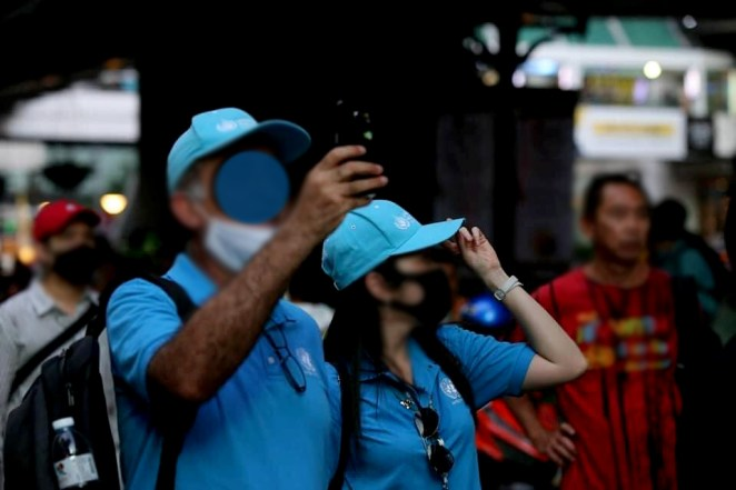UN observers watched Thai youth and people protests in Bangkok. - C'mon » TikTokJa Video Downloader protests in Bangkok protests in Bangkok