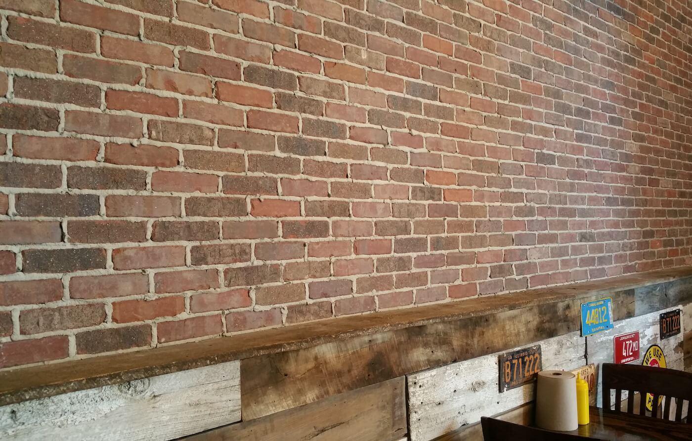 Brick Backsplash Design  Fat Dans  Chimney Masonry Outfitters